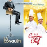LA CONQUETE / COMME UN CHEF (MUSIQUE DE FILM) - NICOLA PIOVANI (CD)