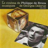 CARTOUCHE / LE DIABLE PAR LA QUEUE (MUSIQUE DE FILM) - GEORGES DELERUE (CD)