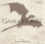 LE TRONE DE FER SAISON 3 (GAME OF THRONES) - RAMIN DJAWADI (CD)