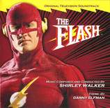 THE FLASH (MUSIQUE DE SERIE TV) - SHIRLEY WALKER - DANNY ELFMAN (2 CD)