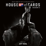 HOUSE OF CARDS SAISON 2 (MUSIQUE SERIE TV) - JEFF BEAL (2 CD)