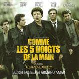 COMME LES 5 DOIGTS DE LA MAIN (MUSIQUE DE FILM) - ARMAND AMAR (CD)