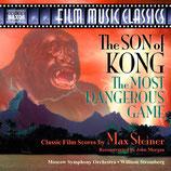 LE FILS DE KONG - LA CHASSE DU COMTE ZAROFF - MAX STEINER (CD)