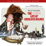 LA VIE PRIVEE DE SHERLOCK HOLMES (MUSIQUE) - MIKLOS ROZSA (2 CD)