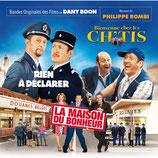 RIEN A DECLARER / LA MAISON DU BONHEUR / BIENVENUE CHEZ LES CHTIS (MUSIQUE DE FILM) - PHILIPPE ROMBI (CD)
