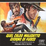 AVEC DJANGO CA VA SAIGNER (MUSIQUE DE FILM) - PIERO PICCIONI (CD)