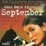 4 JOURS EN SEPTEMBRE (MUSIQUE DE FILM) - STEWART COPELAND (CD)
