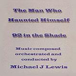 LA SECONDE MORT D'HAROLD PELHAM (MUSIQUE) - MICHAEL J. LEWIS (CD)
