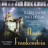 LA MAISON DE FRANKENSTEIN (MUSIQUE DE FILM) - HANS J. SALTER (CD)