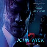 JOHN WICK 2 (MUSIQUE DE FILM) - TYLER BATES (CD)