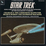 STAR TREK : CHARLIE X - FAUSSES MANOEUVRES - FRED STEINER (CD)