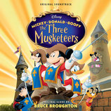MICKEY, DONALD, DINGO : LES TROIS MOUSQUETAIRES - BRUCE BROUGHTON (CD)
