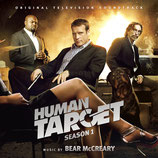 HUMAN TARGET  LA CIBLE (MUSIQUE DE SERIE TV) - BEAR McCREARY (3 CD)