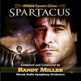 SPARTACUS (MUSIQUE DE FILM) - RANDY MILLER (CD)