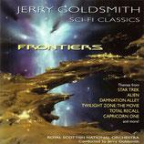 ALIEN / STAR TREK / TOTAL RECALL / FRONTIERS (MUSIQUE) - JERRY GOLDSMITH (CD)