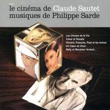 LE CINEMA DE CLAUDE SAUTET (MUSIQUE DE FILM) - PHILIPPE SARDE (CD)