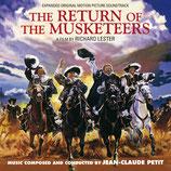 LE RETOUR DES MOUSQUETAIRES (MUSIQUE) - JEAN-CLAUDE PETIT (CD)