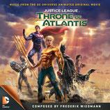 LA LIGUE DES JUSTICIERS : LE TRONE DE L'ATLANTIDE (MUSIQUE DE FILM) - FREDERIK WIEDMANN (CD + AUTOGRAPHE)