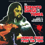 HORROR RISES FROM THE TOMB (MUSIQUE) - CARMELO BERNAOLA (CD)