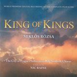 LE ROI DES ROIS (KING OF KINGS) MUSIQUE DE FILM - MIKLOS ROZSA (2 CD)