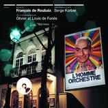 L'HOMME ORCHESTRE (MUSIQUE DE FILM) - FRANCOIS DE ROUBAIX (CD)