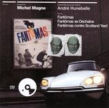FANTOMAS / FANTOMAS SE DECHAINE (MUSIQUE) - MICHEL MAGNE (CD)