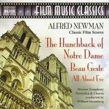 QUASIMODO, LE BOSSU DE NOTRE DAME / BEAU GESTE (MUSIQUE FILM) ALFRED NEWMAN (CD)