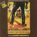 ZORRO LA MASCHERA DELLA VENDETTA (MUSIQUE) - GIANNI MARCHETTI (CD)