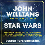 JOHN WILLIAMS CONDUCTS MUSIC FROM STAR WARS - JOHN WILLIAMS (2 CD)