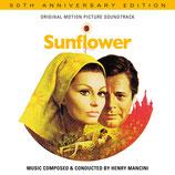 LES FLEURS DU SOLEIL (SUNFLOWER) MUSIQUE - HENRY MANCINI (CD)