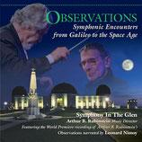 OBSERVATIONS (MUSIQUE) - ARTHUR B RUBINSTEIN - LEONARD NIMOY (CD)
