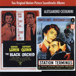 L'ORCHIDEE NOIRE / STATION TERMINUS (MUSIQUE) - ALESSANDRO CICOGNINI (CD)