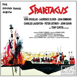 SPARTACUS (MUSIQUE DE FILM) - ALEX NORTH (CD)