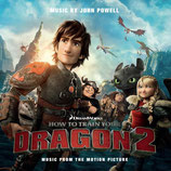 DRAGONS 2 (HOW TO TRAIN YOUR DRAGON 2) MUSIQUE - JOHN POWELL (CD)