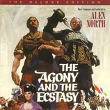 L'EXTASE ET L'AGONIE (MUSIQUE) - ALEX NORTH - JERRY GOLDSMITH (CD)