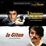 3 HOMMES A ABATTRE / LE GITAN (MUSIQUE DE FILM) - CLAUDE BOLLING (CD)