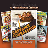 CAPITAINES COURAGEUX / SOUPCONS (MUSIQUE) - FRANZ WAXMAN (4 CD)
