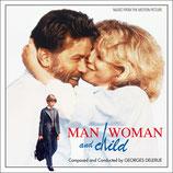 UN HOMME, UNE FEMME, UN ENFANT (MUSIQUE) - GEORGES DELERUE (CD)