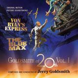 L'EXPRESS DU COLONEL VON RYAN /  LE CREPUSCULE DES AIGLES (MUSIQUE) - JERRY GOLDSMITH (2 CD)