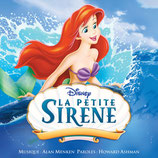LA PETITE SIRENE (DISNEY) - VERSION FRANCAISE - ALAN MENKEN (CD)