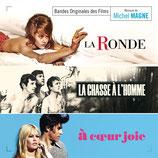 LA RONDE / LA CHASSE A L'HOMME / A COEUR JOIE - MICHEL MAGNE (CD)