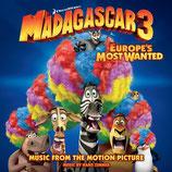 MADAGASCAR 3 : BONS BAISERS D'EUROPE (MUSIQUE) - HANS ZIMMER (CD)