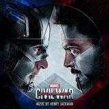 CAPTAIN AMERICA : CIVIL WAR (MUSIQUE DE FILM) - HENRY JACKMAN (CD)