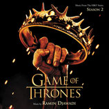 LE TRONE DE FER SAISON 2 (GAME OF THRONES) - RAMIN DJAWADI (CD)