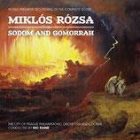 SODOME ET GOMORRHE (MUSIQUE DE FILM) - MIKLOS ROZSA (2 CD)