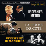 LE DERNIER METRO / VIVEMENT DIMANCHE ! - GEORGES DELERUE (2 CD)