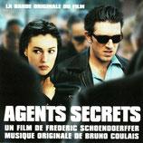 AGENTS SECRETS (MUSIQUE DE FILM) - BRUNO COULAIS (CD)