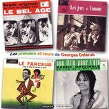 LE BEL AGE / LE FARCEUR / LES JEUX DE L'AMOUR (MUSIQUE) - GEORGES DELERUE (CD)