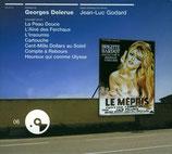 LE MEPRIS / HEUREUX QUI COMME ULYSSE / CARTOUCHE (MUSIQUE) GEORGES DELERUE (CD)
