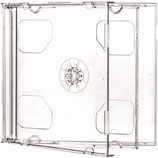 BOITIER DE REMPLACEMENT (2 CD TRANSPARENT)
